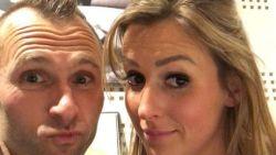 Net op Valentijn toont Thomas Buffel de nieuwe vrouw in zijn leven