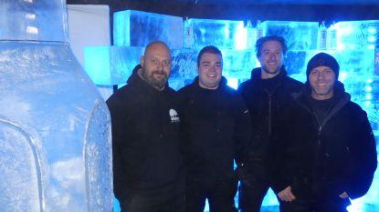 Klinken bij -5 graden Celsius, in deze unieke ijsbar kan het