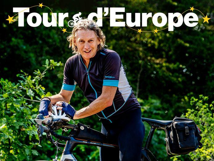 Edwin Winkels op tour door Europa.