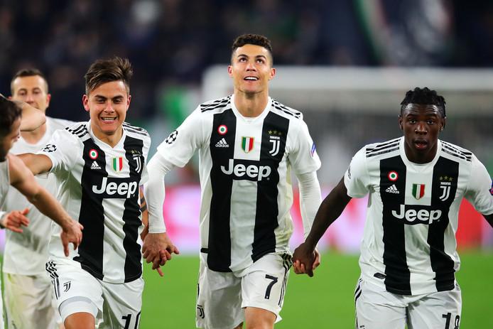 Cristiano Ronaldo is de gevierde man na de winst op Atlético Madrid.