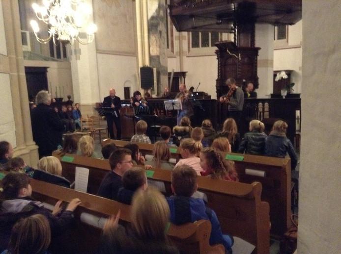 Afsluiting Bach in de klas 2014 in de Sint-Maartenskerk in Zaltbommel.