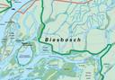De feestvierders aan de Brabantse kant van het natuurgebied werden betrapt ter hoogte van de Reugt, een van de kreken rechts onderin de kaart.