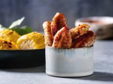 BBQ-kip met pittige maïskolven
