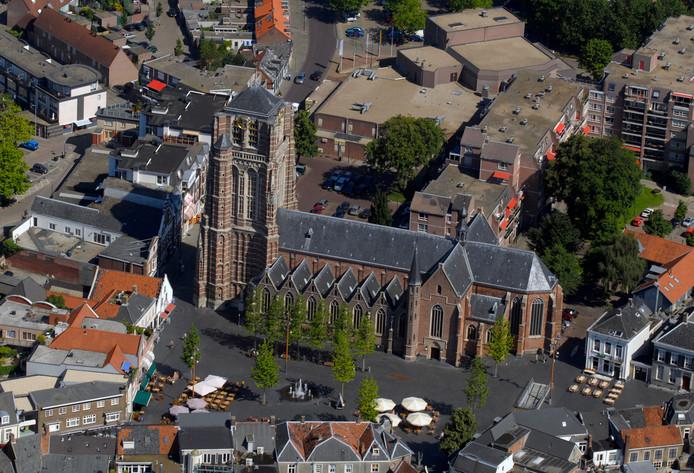 De Sint Jansbasiliek in Oosterhout.