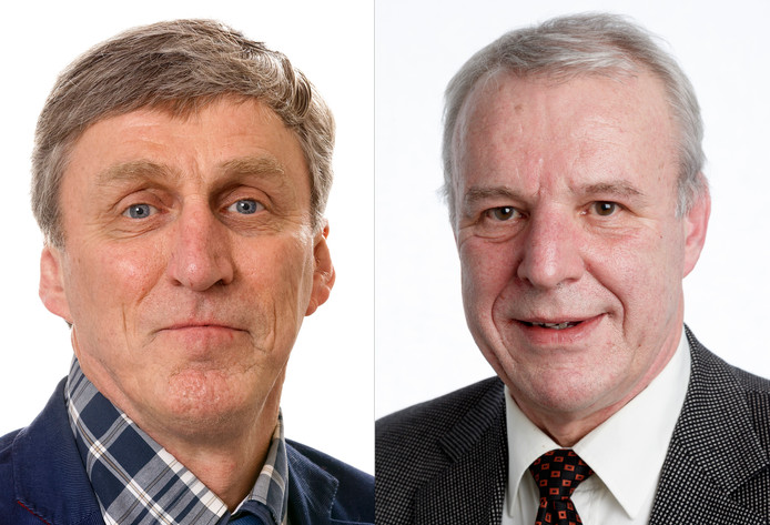 Sjef van Creij (Links) en Jos van Son.