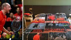 En of onze Belgische tennissers dromen van de Davis Cup