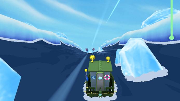 In Sea Hero Quest moet onder andere met een bootje gevaren worden in een 3D-omgeving.