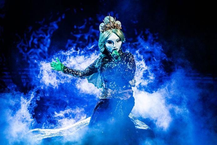 De Zeemeermin uit 'The Masked Singer'