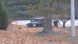Dramatische beelden van achtervolging en redding deserterende Noord-Koreaanse soldaat