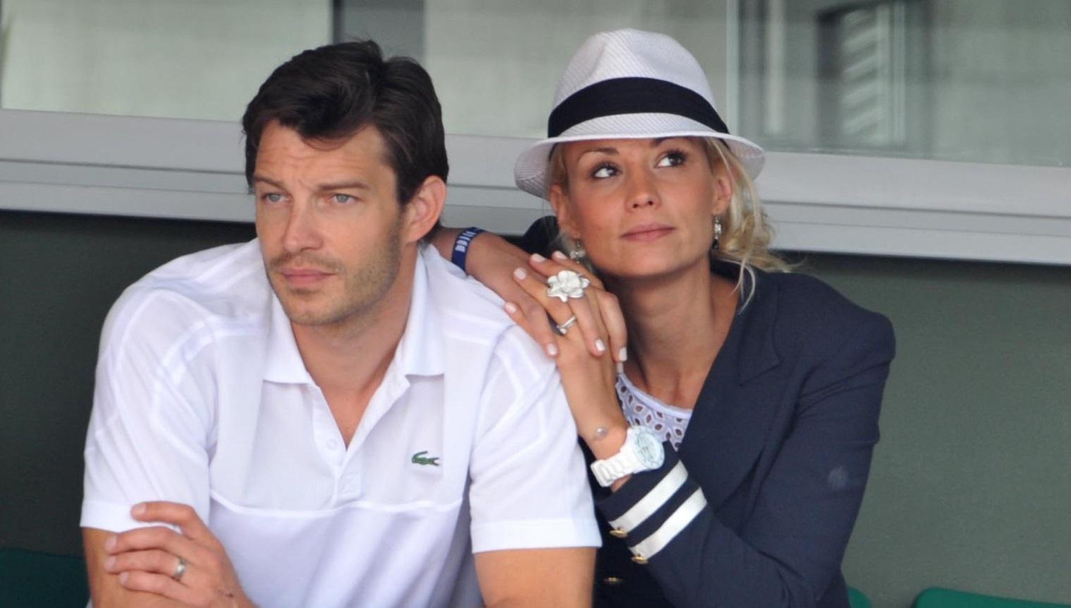 Elodie et son mari, Bertrand