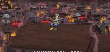 """Espérons que cette prédiction des """"Simpson"""" pour 2021 ne se réalise pas"""
