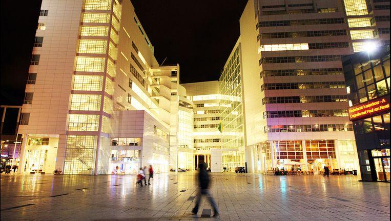 Het stadhuis van Den Haag aan het Spui. Beeld anp