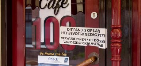 Café 100 in Ede ook dicht vanwege overtreding coronaregels