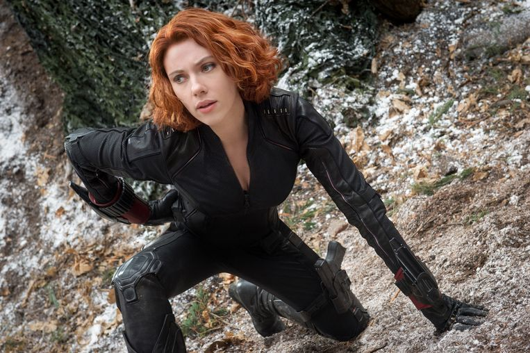 Scarlett Johansson als Black Widow.