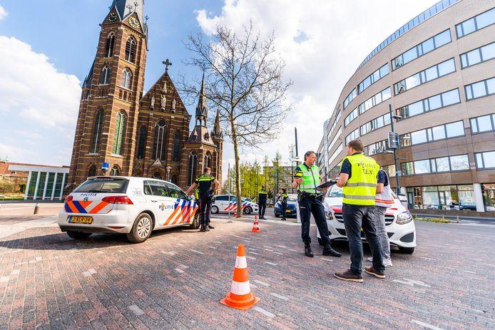 Bommelding in Eindhoven.