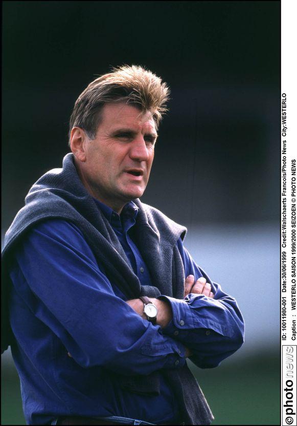 Als trainer van Westerlo in 1999.