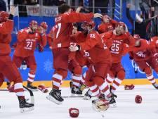 Russen blazen het sprookje van de Duitse ijshockeyers uit