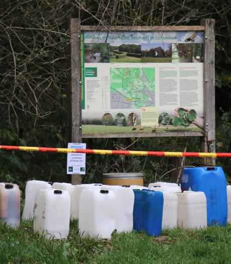 Parkeerplaats Mariëndaal in Arnhem dicht na dumpen drugsafval