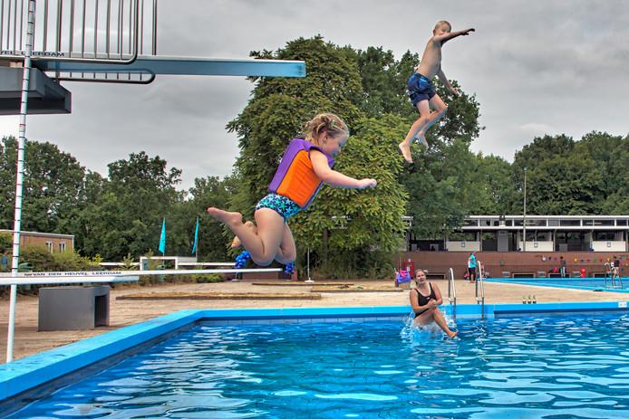Zwembad Wolfslaar in Breda