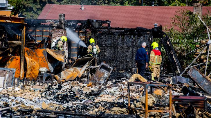 Restaurant Abel volledig afgebrand