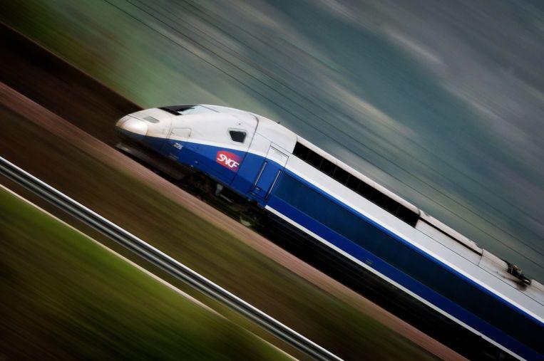TGV. Beeld AFP