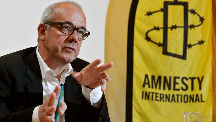 Philippe Hensmans, directeur de la section belge francophone d'Amnesty International