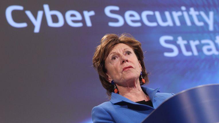Eurocommissaris Neelie Kroes Beeld ap
