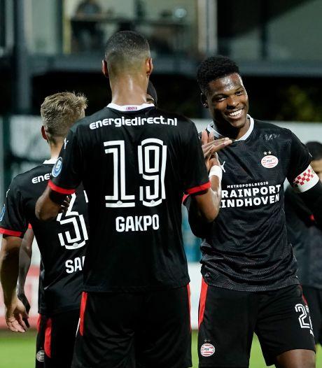 PSV slaat in verlicht spookhuis eerste Europese slag