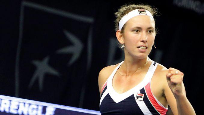 Elise Mertens stoot door naar kwartfinales in Luxemburg
