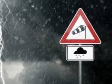 Alerte jaune pour les orages jusqu'à ce samedi soir