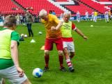 65-plussers hebben dag van hun leven bij PSV voetbalclinic