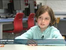À seulement huit ans, il va entamer des études pour devenir ingénieur