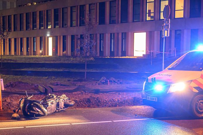De scooter voor het Amphia Ziekenhuis.