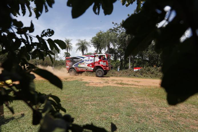 De MAN van Peter Versluis in de Dakar Rally