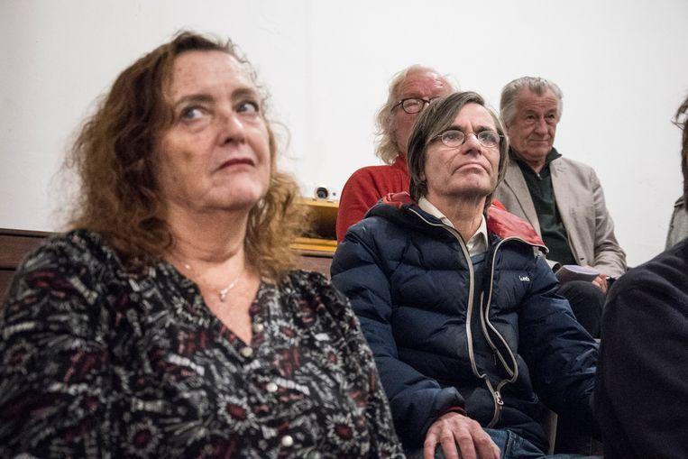 Bijeenkomst Bijstandsbond in Amsterdam Beeld Ingrid de Groot