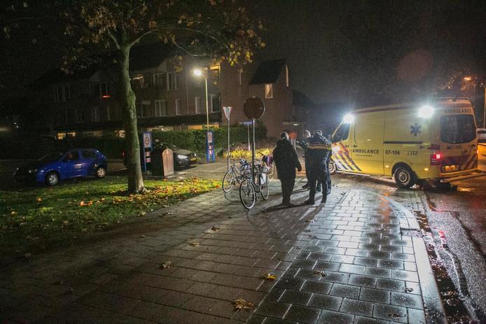 Het ongeluk gebeurde op 't Hoge Eind in Westervoort.