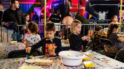 IN BEELD. Honderden kinderen koning te rijk in 'Kinderstad'