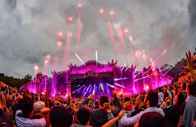 Sfeerbeeld vanop Tomorrowland.