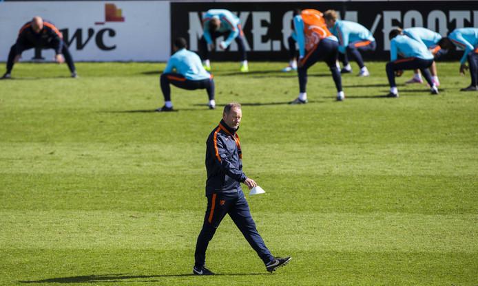 Training van het Nederlands elftal
