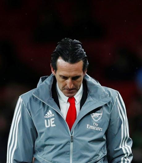 Emery vreest na nieuwe domper niet voor ontslag bij Arsenal