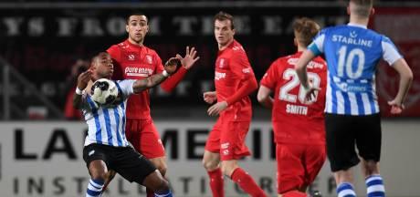 Sterk FC Eindhoven verliest van koploper FC Twente door een penalty in blessuretijd