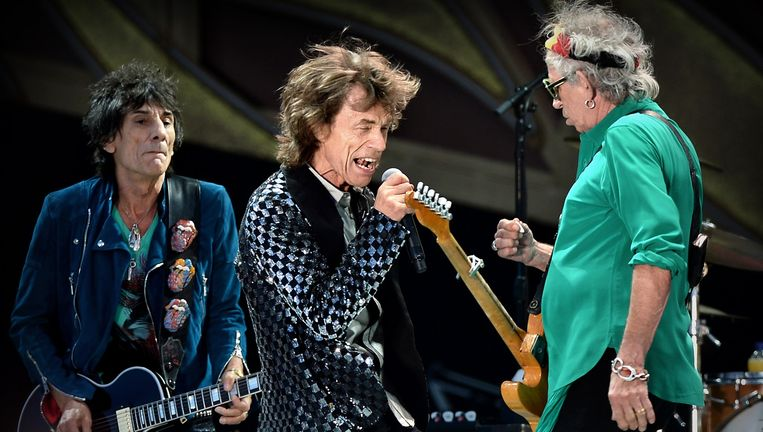 The Rolling Stones op Pinkpop 2014. Beeld Marcel van den Bergh