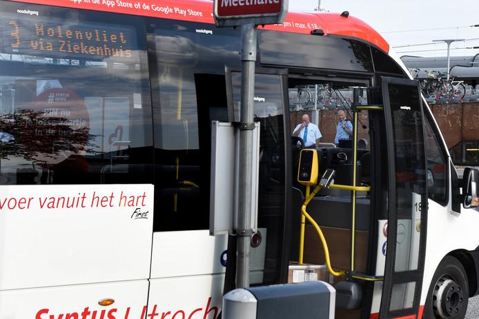 Een busje van Syntus