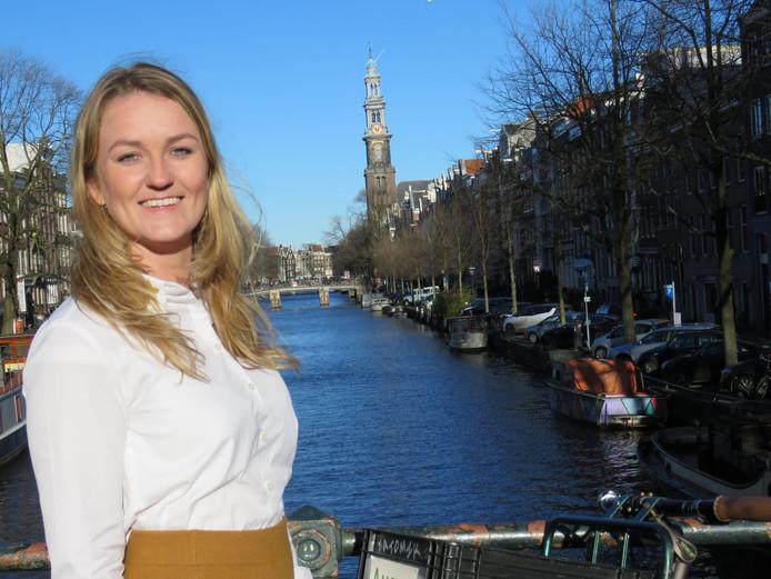 Paula Schot (24) is de eerste lijsttrekker van de SGP in Amsterdam.