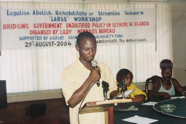 Conferentie van sekswerkers in Oeganda (2004). Beeld XminY