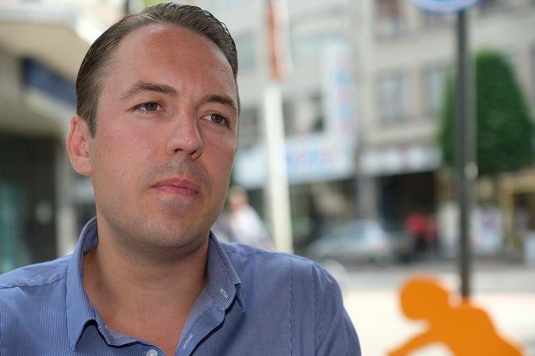 Sam Van Rooy (Vlaams Belang). Hij volgt in januari Filip Dewinter op als fractieleider.