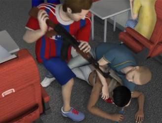 Video toont hoe helden Thalys-schutter te lijf gingen