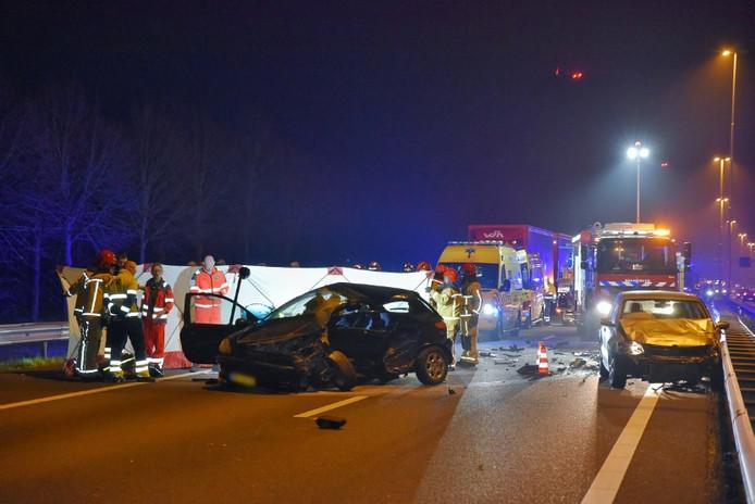 Ernstig ongeluk op A58 bij Moergestel
