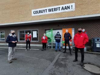"""Vakbondsacties aan Colruyt-winkels in Alsemberg en Anderlecht: """"Ook winkelpersoneel zit op hun tandvlees"""""""