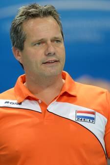Bondscoach Vermeulen gunt vier volleyballers fraai afscheid